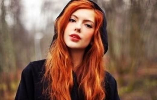 Bright Red-Orange Hair