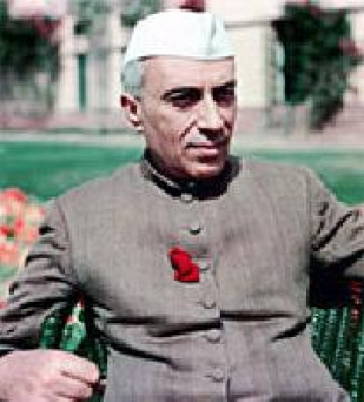 Jawaharlal Nehru -  public domain photo courtesy of WikiPedia (http://en.wikipedia.org/wiki/File:Jawahar_Lal_Nehru.jpg)