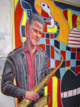 Steve Vanoni and his sax