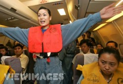 Airlines, in an emergency I want a life jacket AND a parachute under my seat!