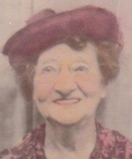 Mary Smiley- My dad's mother.