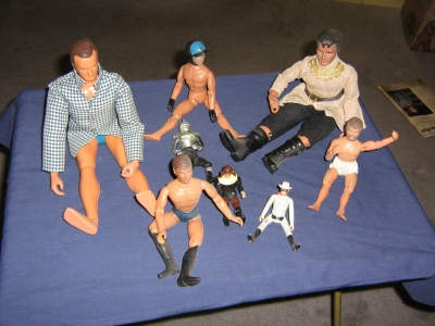ACTION FIGURES - late 70s and 80s
