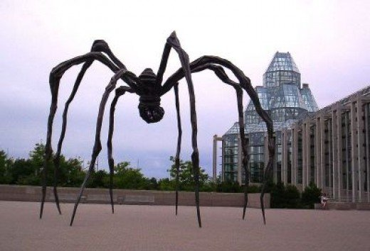 Louise Bourgeois' Metal Spider
