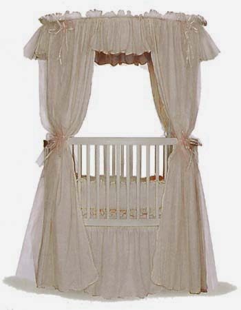 From the Little Miss Liberty Collection...This is the Ice Coffee Canopy Set which is part of the A-Lot-of-Gelato Collection and can be found at The Round Baby Crib Company... www.theroundbabycribcompany.com
