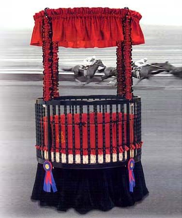 From the Little Miss Liberty USA Sports Collection...This is the Champion Universal Canopy Set and it can be found at The Round Baby Crib Company... www.theroundbabycribcompany.com