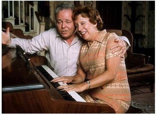 Archie and Edith Sang Those Were The Days Before Every Episode