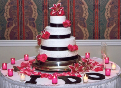 Tier Fondant Wedding Cake Using The Fondant Recipe