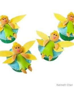 Cute Fairy Cupcakes For Girls Party