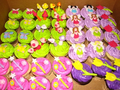Fairy Princess Cupcakes