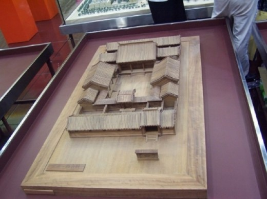 Structure of the inn in Guan-Jian