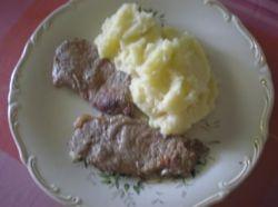 Mash potato with beef