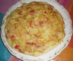 Potato Spanish tortilla