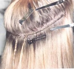 Hair Weave Caucasian 39