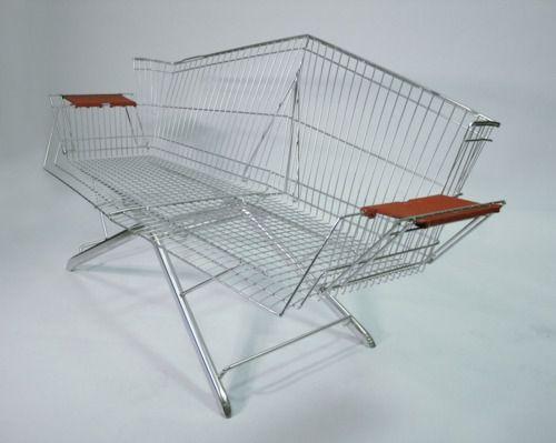 Shopping Cart Bench