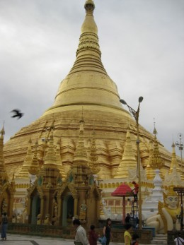 Shwedagon, most sacred temple in Myanmar