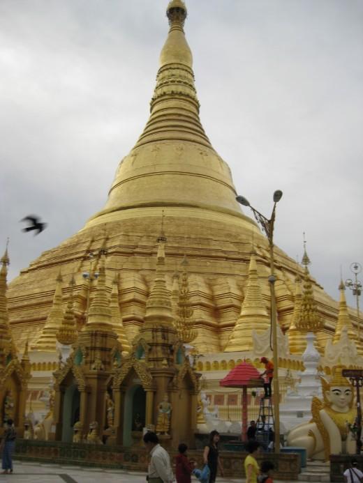 Shwedagon, most sacred temple in Myanmar