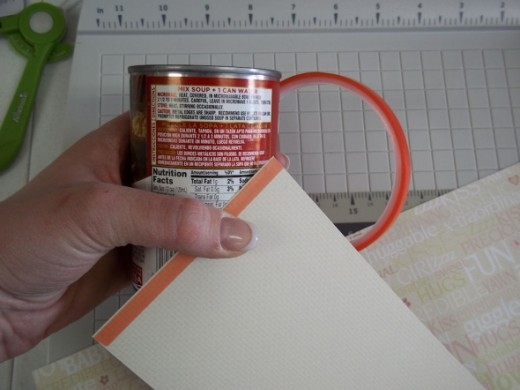 Use the Terrifically Tacky tape along the very edge of the paper to ensure a good seal.
