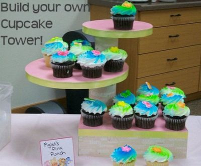 Build your own Cupcake Tower