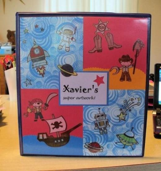 Xavier's Super Artwork!