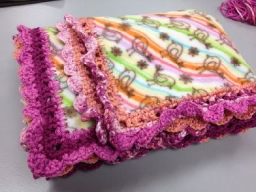 You can make this beautiful blanket!