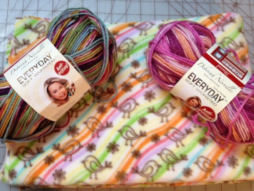 ...I got both! I found out one skein was JUST enough for my basic rows and shell pattern so I lucked out.