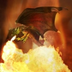 Enlightenment and Spiritual Growth Through Dragon Fire
