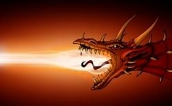 Dragon Fire is like passion in people. Dragons, like people, seek spiritual growth and spiritual enlightenment too, but they do it with passion