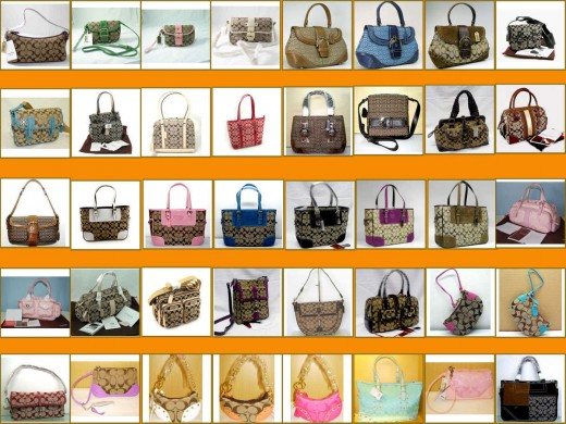 Coach has a vast collection of styles and colors from which you can choose your favorite