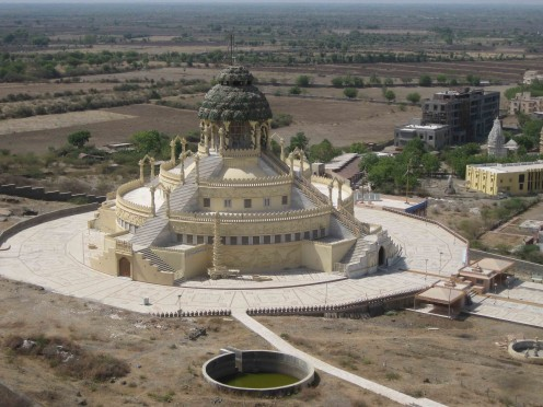 Samavasharana Temple in Palitana Talheti (Valley).