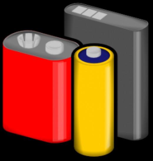 silver batteries
