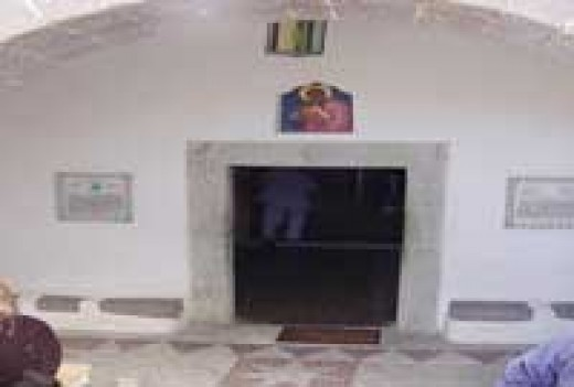 It is believed that John lived in this cave while on Patmos. Tradition holds that this cave could very well be the place where he had the vision for Revelation.