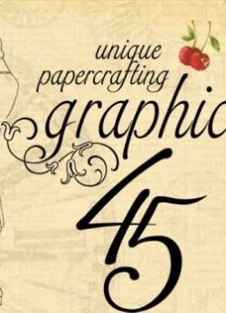 Graphic 45 Vintage Scrapbooking Paper