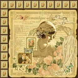 Le' Romantique Graphic 45 Scrapbooking Paper