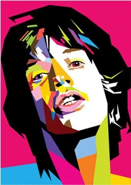 Mick Jagger in WPAP