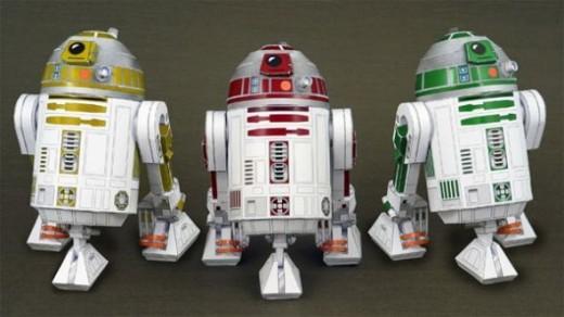 Star Wars R2 Droids