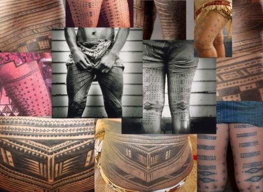 Traditional Samoan Tattoo Designs