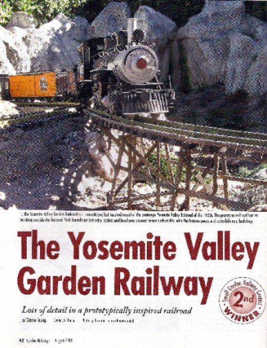 The Yosemite Valley Garden Railway