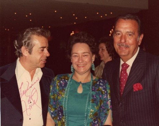 Aunt Janice with Tennessee Ernie Ford