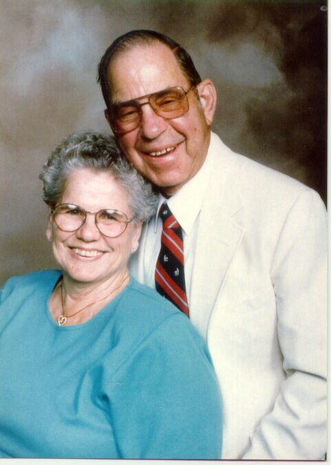 Mom and Dad Adams
