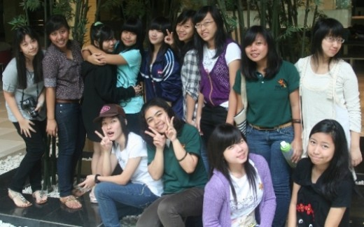 These are the Girls of UPH College Dorm