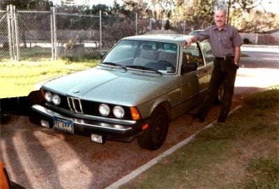 William Ray Smith and his Mercedes Benz