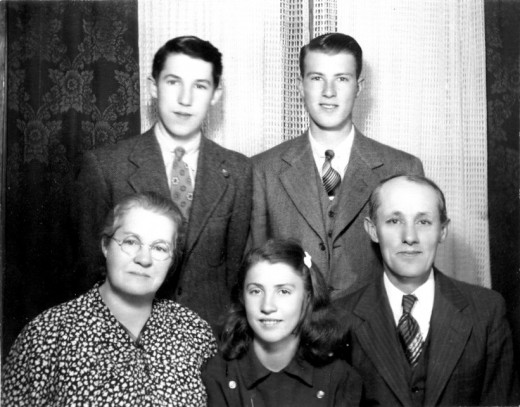 Marie had three brothers, H. Mendell Smith, Merle T. Smith and William Ray Smith.