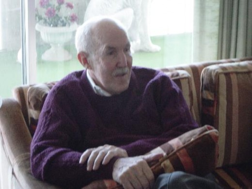 Here is a picture of Uncle Bill in Colorado Springs at Mendells 80th Birthday Party.