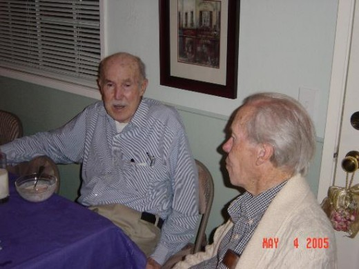 Uncle Bill at his brothers 86th Birthday Party in Chino California