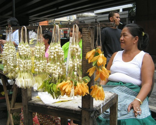 sampaguita garlands