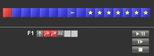 Robozzle, a puzzle programming game