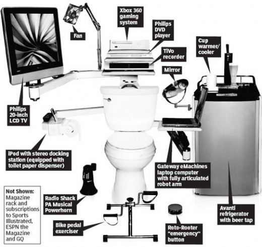 Bill Gates Geek Toilet