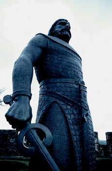 At the Threshold Moment...I take sword in hand.   And at the Threshold Moment...I am ready to make a stand.
