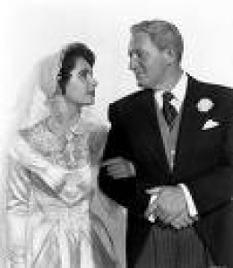 Spencer Tracy and Elizabeth Taylor