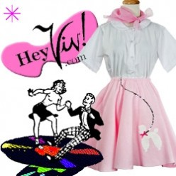 How to dress for Grease, Bye Bye Birdie or a 50's Hop